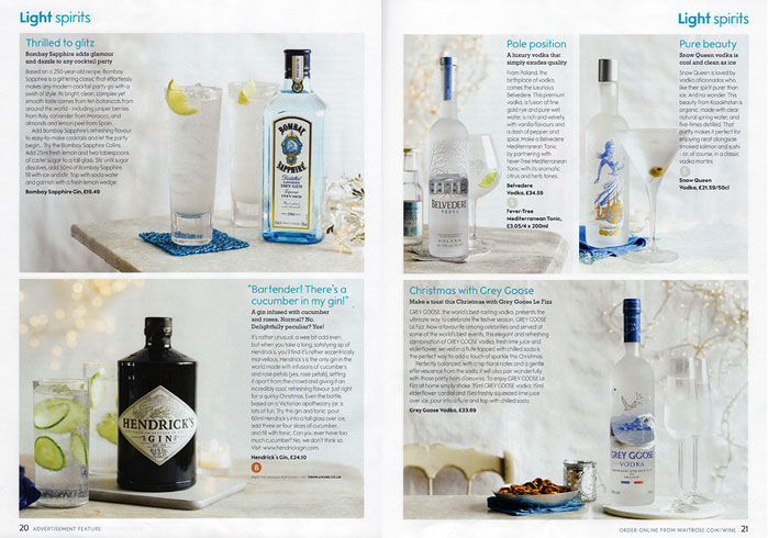 Waitrose Light Spirits